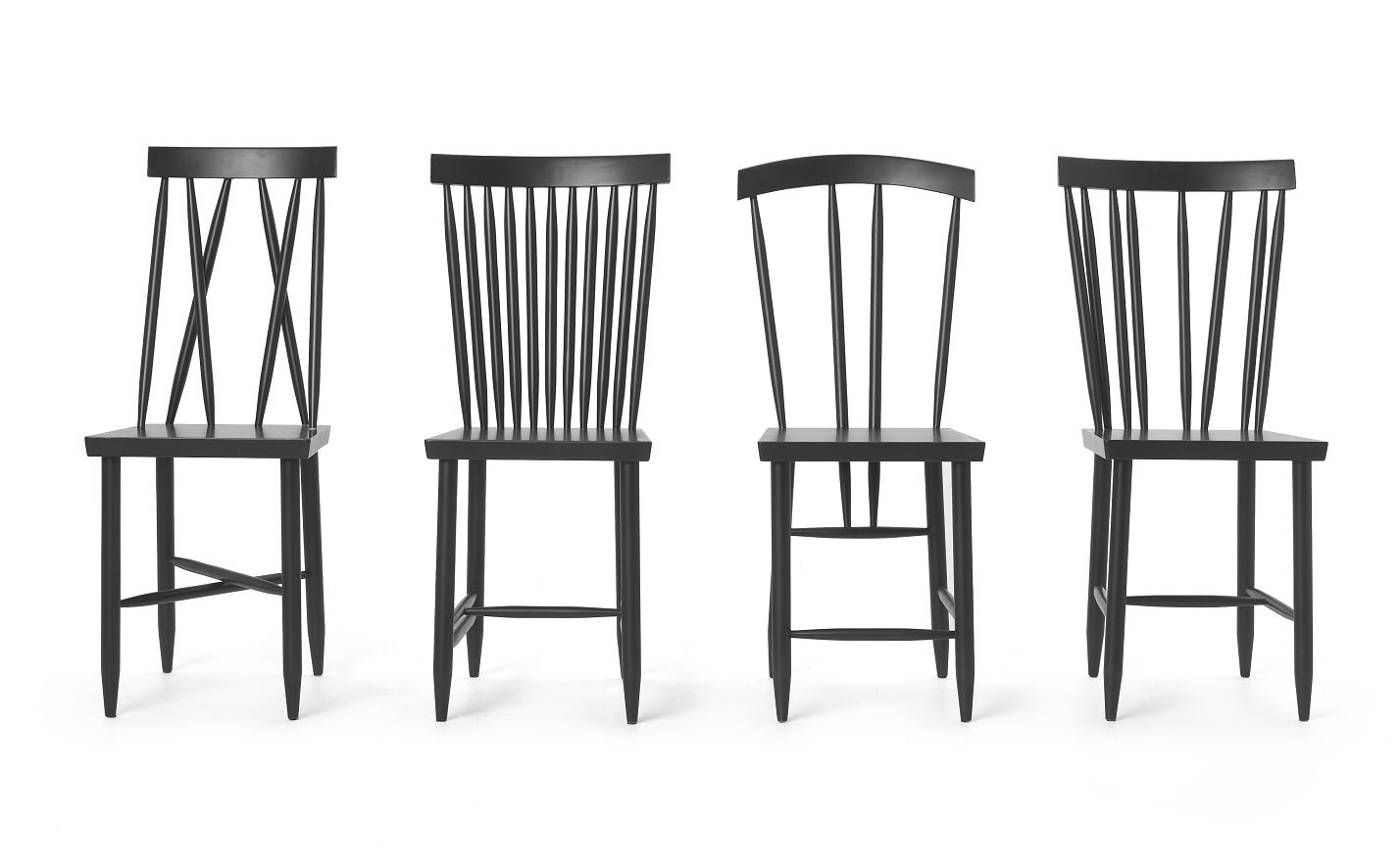 Black family chairs man make home for Black chair design