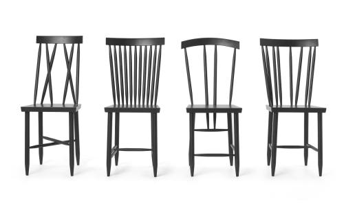 black family chairs