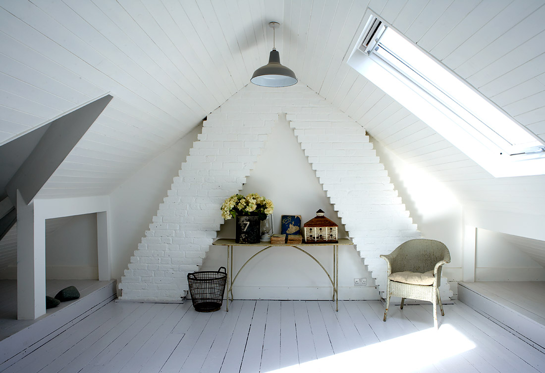 The Whitest Loft Conversion Man Make Home