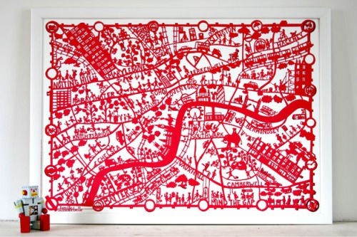 london paper cut