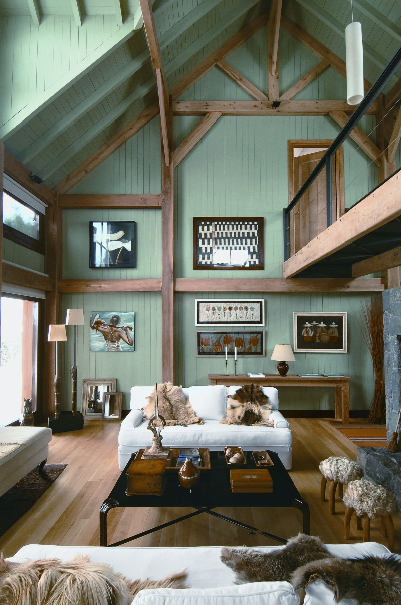 Patagonian Loft Man Make Home